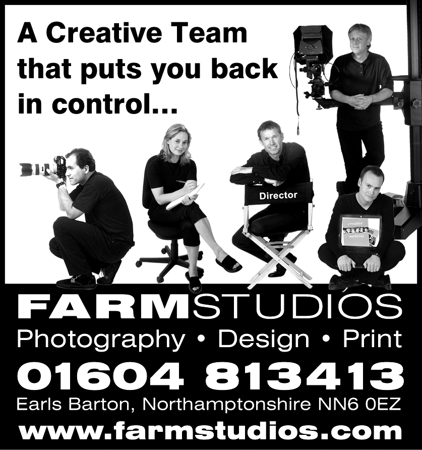 The Farm Studios Design & Photography team.