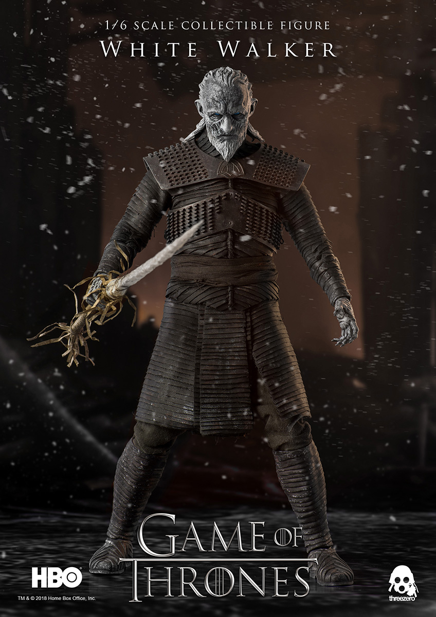 •NEW /& OFFICIAL• IN STOCK ThreeZero White Walker Game of Thrones 1//6 Scale