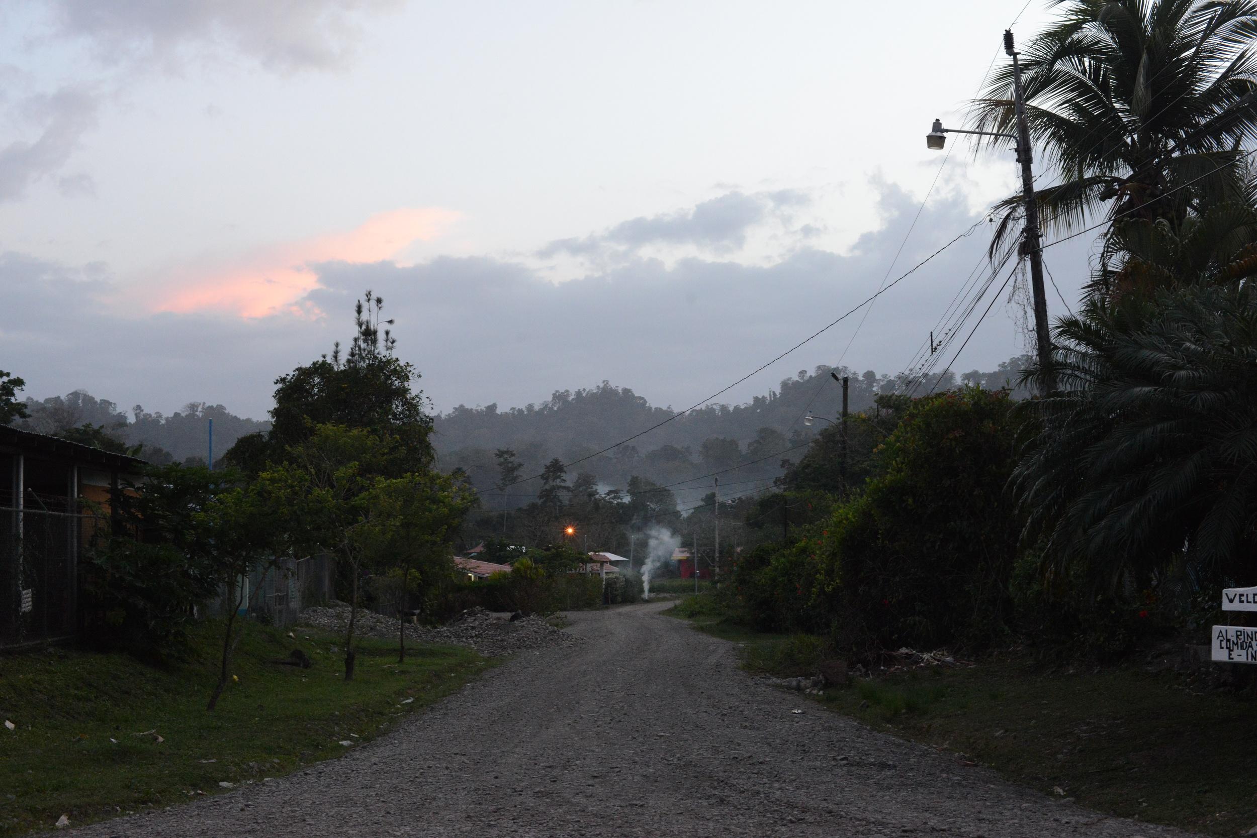 cahuita city life