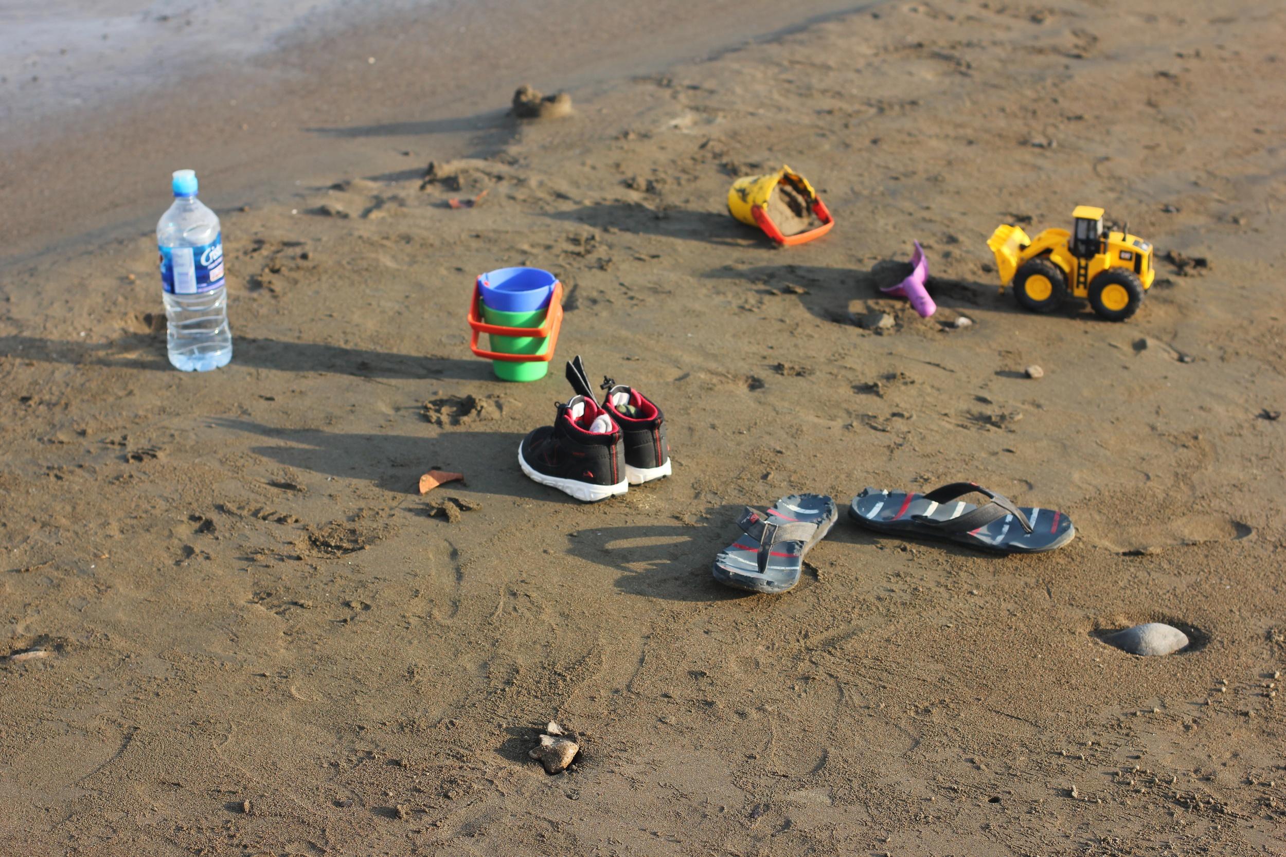 those messy beaches...!