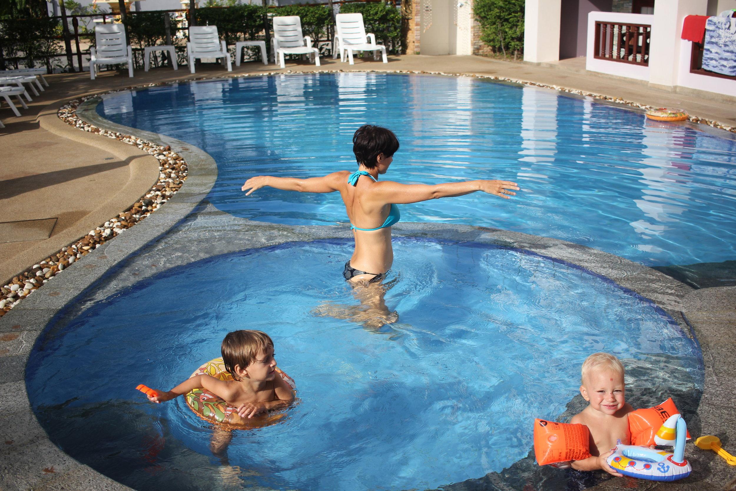 ein Pool für alle Geschmäcker
