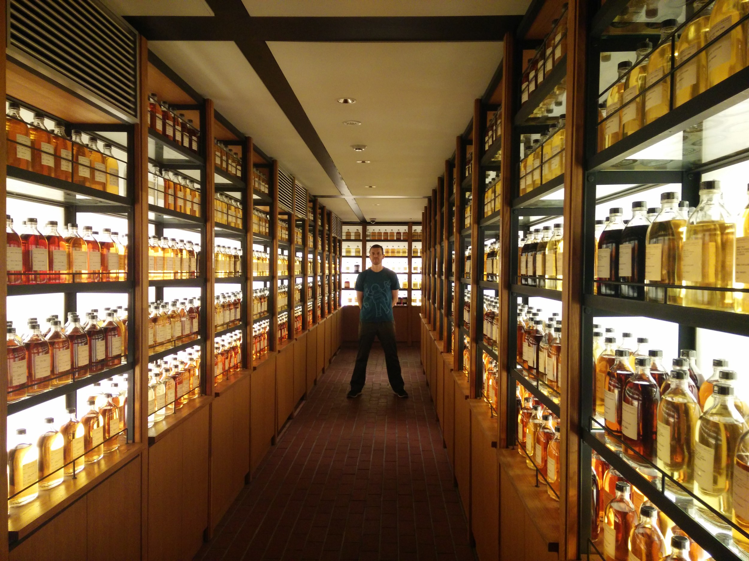 So... much... whisky.