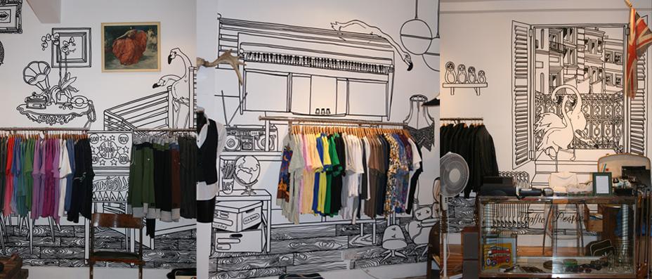 Retail Design, Brick Lane/Carnaby Street/Kings Road, London.