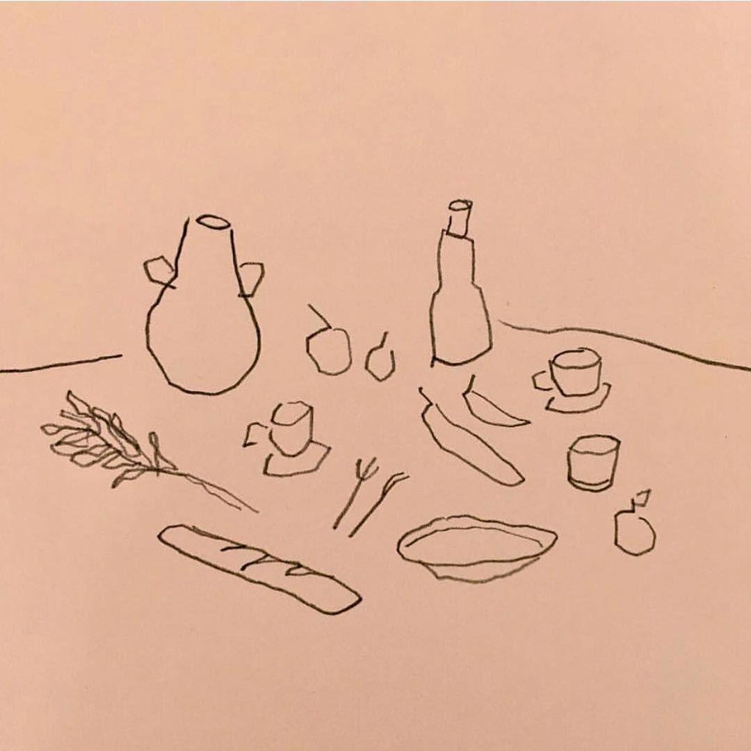 Albert-Riera-Galceran-pink-still-life-drawing.jpg