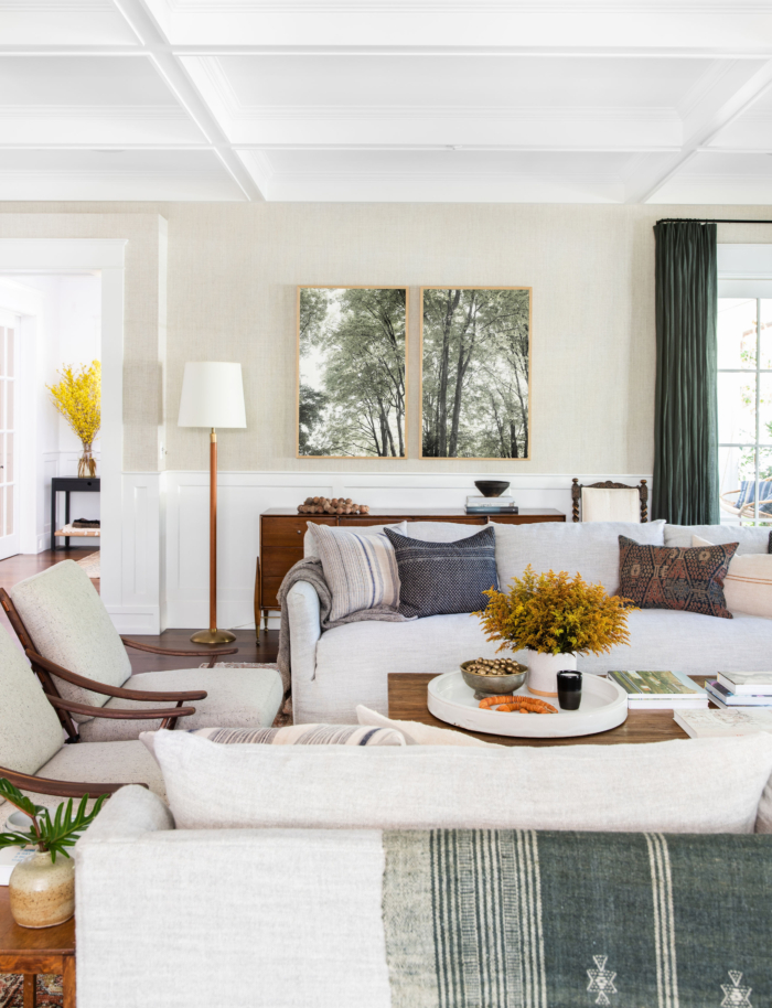 A stunning living room design by  Amber Interiors