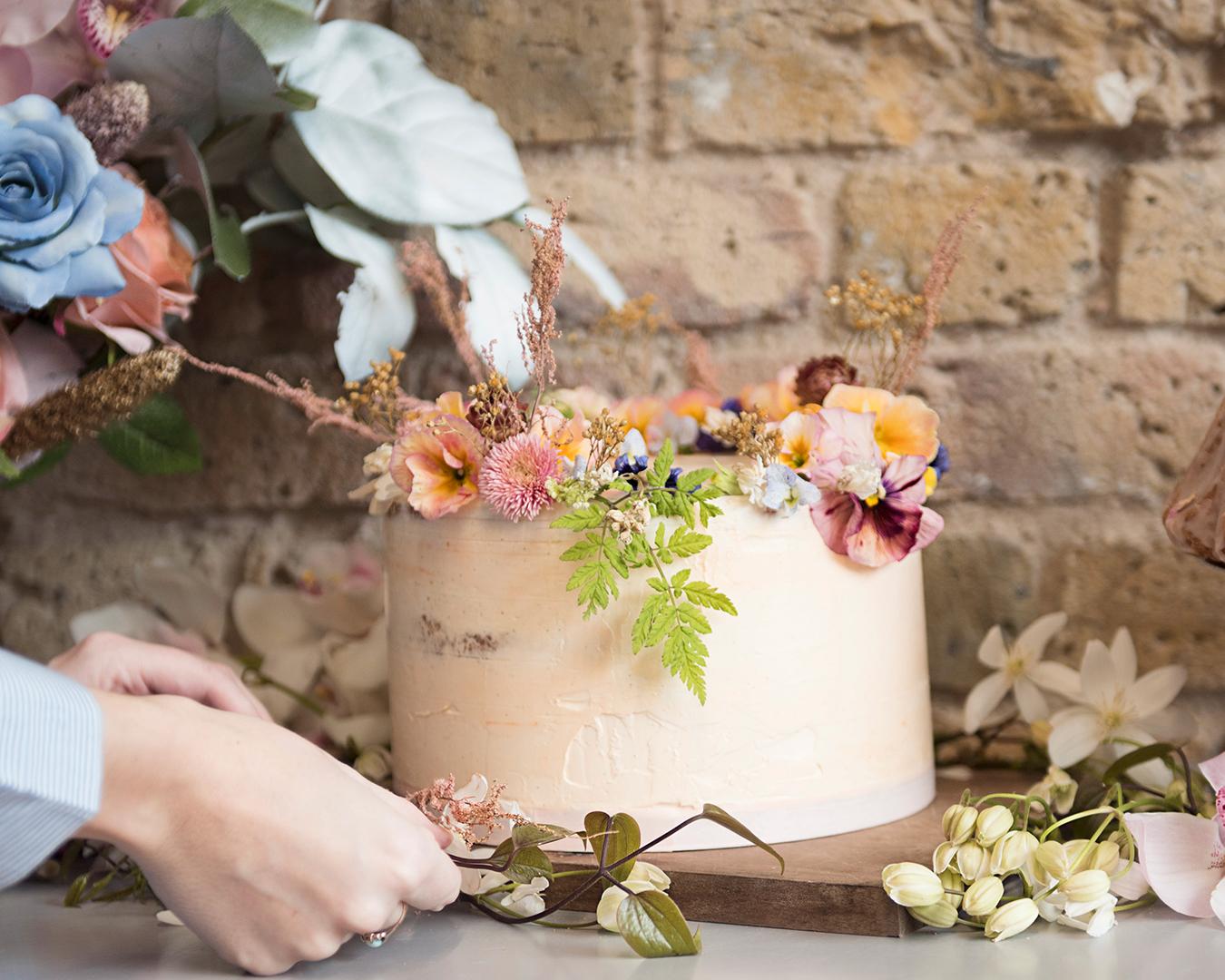 nancy-straughan-meet-up-networking-event-edible-flower-cake.jpg