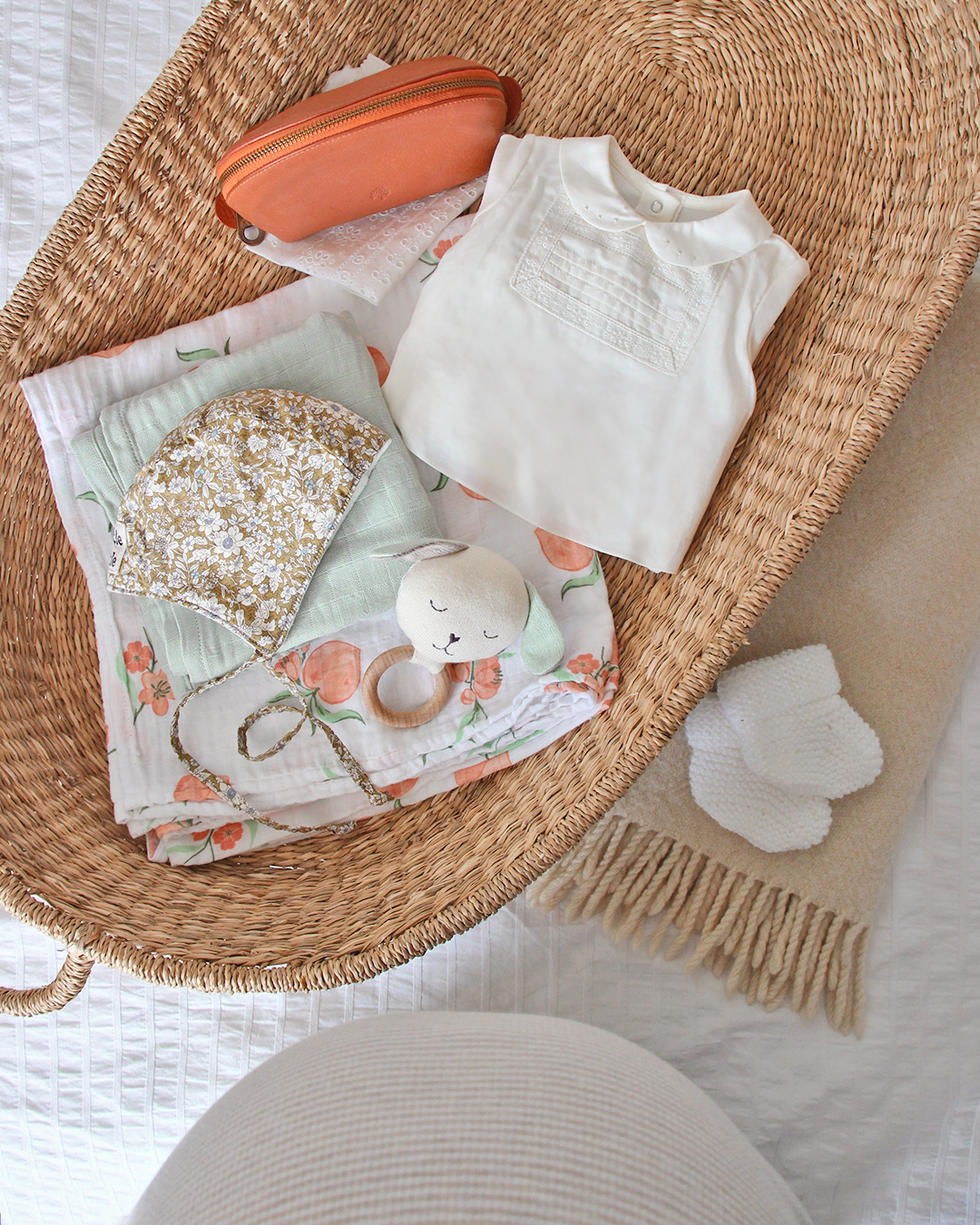 A little selection of our baby things, and my bump at 38 weeks!