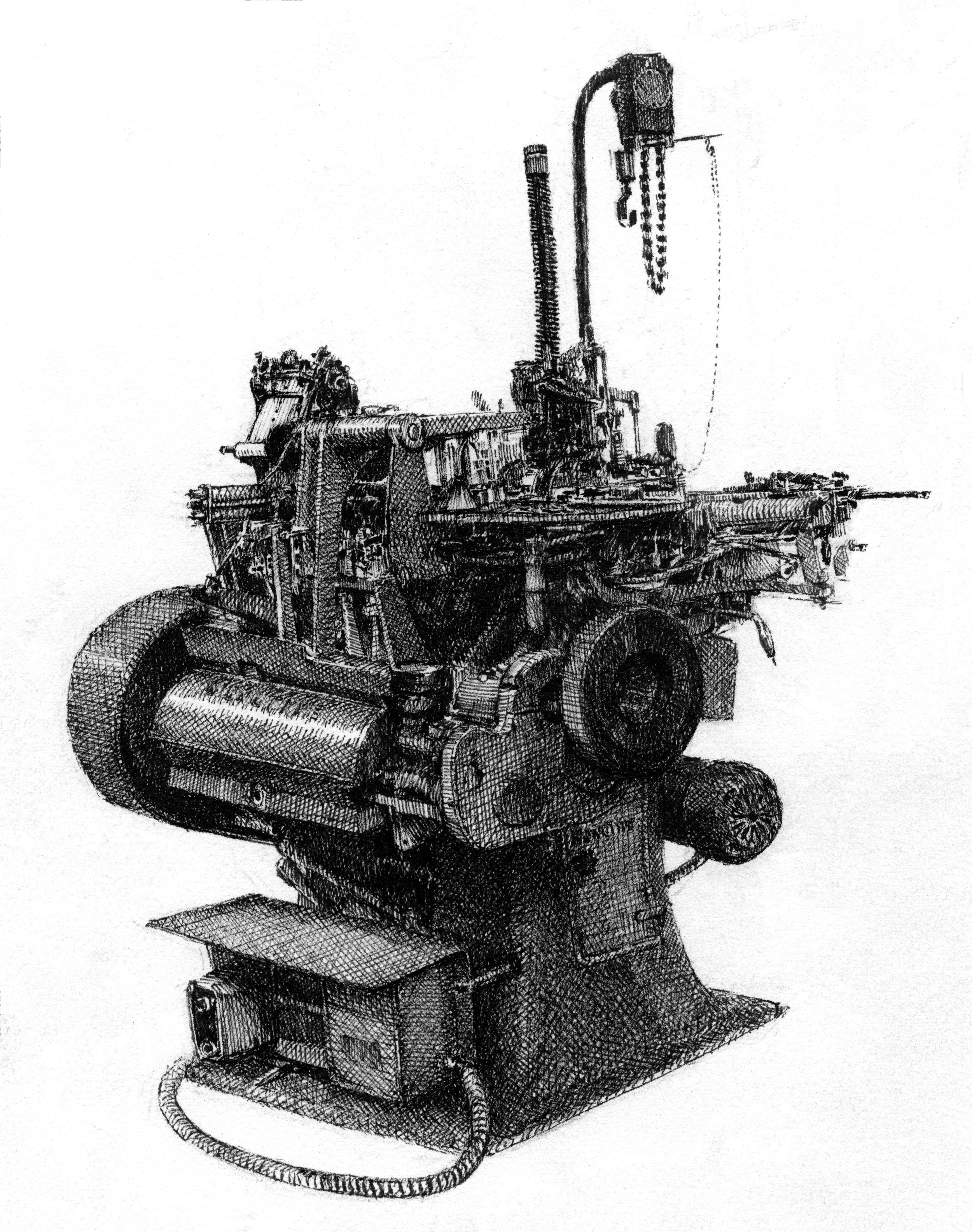 Monotype Composition Caster