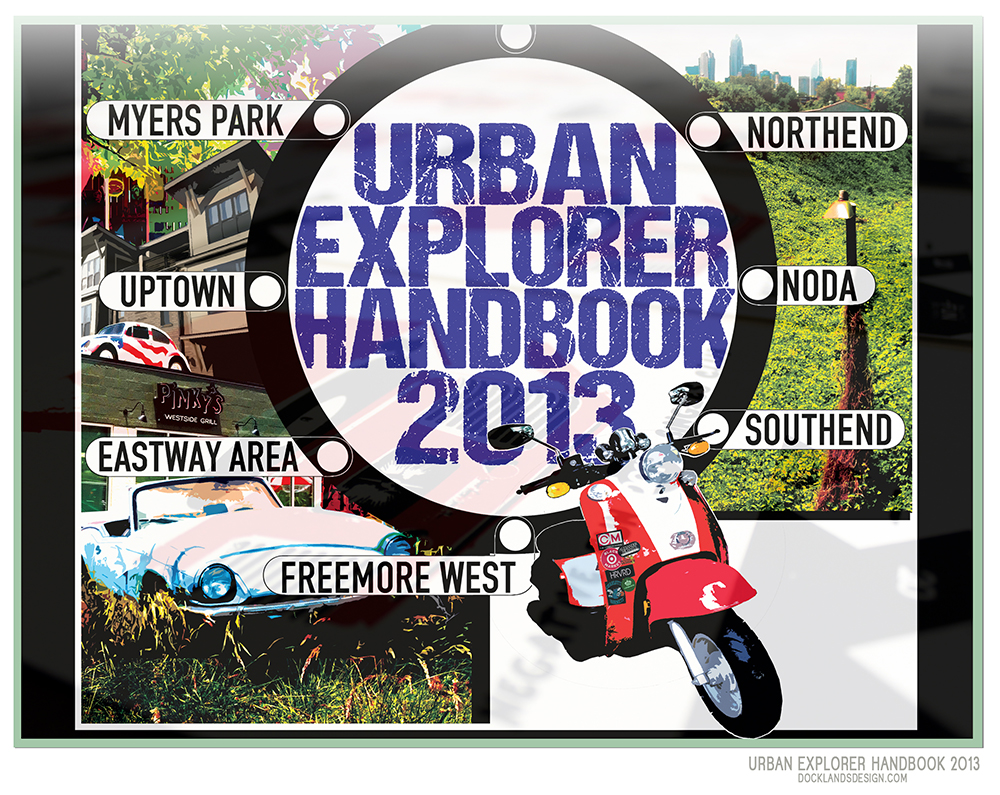 Creative Loafing Weekly, Urban Explorer 2013 & Urban Handbook 2014 Cover Art/Illustration for Press.