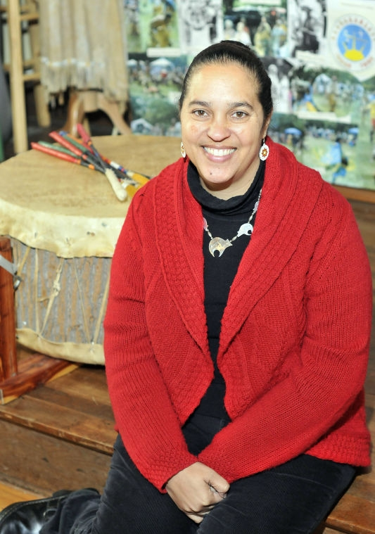 Loren Spears, 48 | Executive Director, Tomaquag Museum     Tomaquag Museum Executive Director Loren Spears is a member of the Narragansett Tribe and cultural educator who works to educate the public and promote dialogue on the history, culture and arts of indigenous people and the issues Native Americans face today.