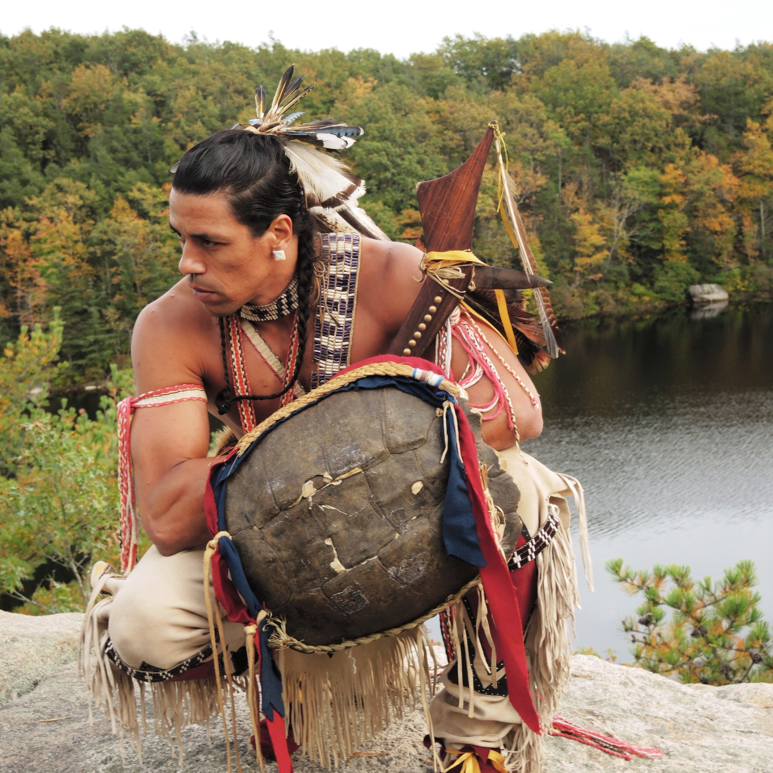 Annawon Weeden/ Mashpee Wampanoag/ Story Telling Performer