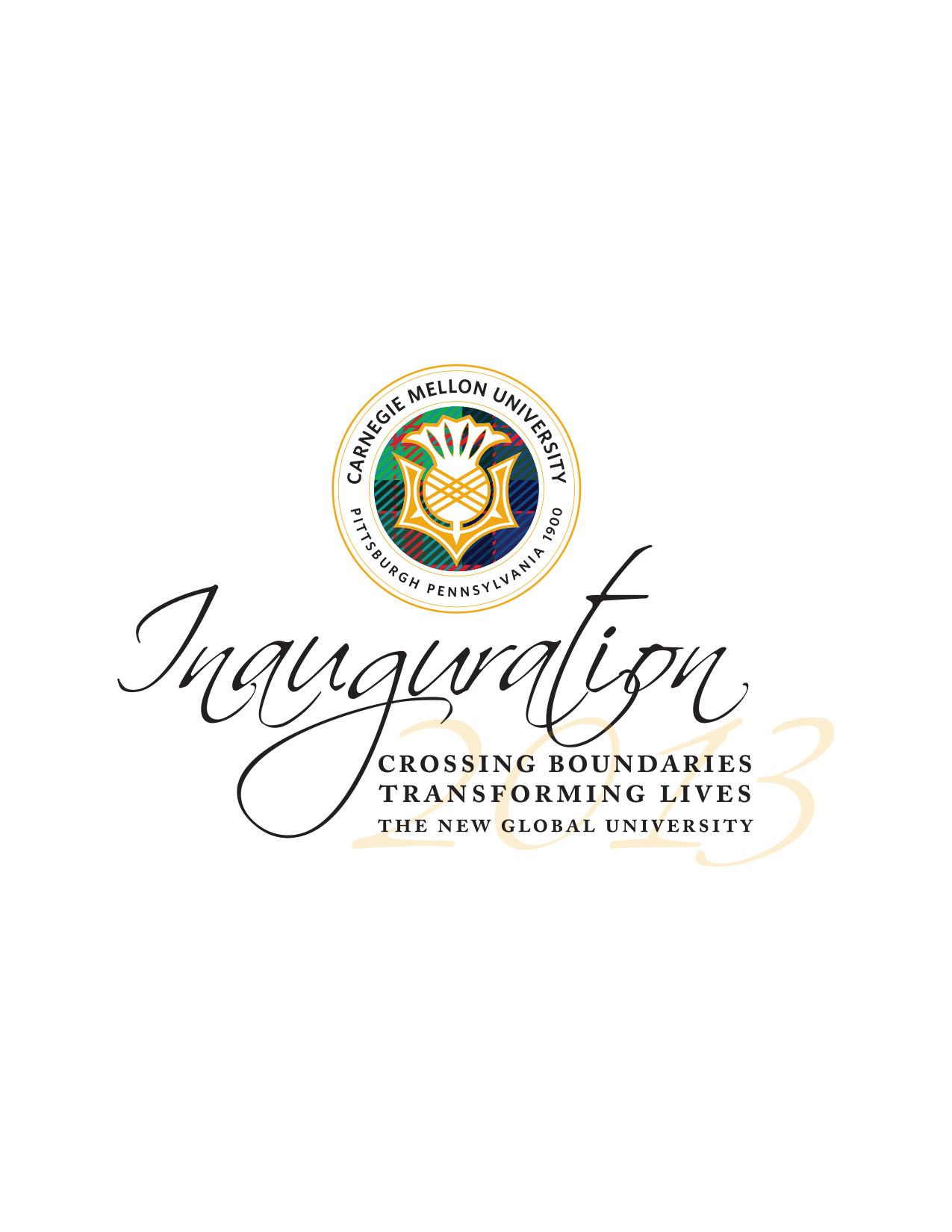 CMU Presidential Inauguration