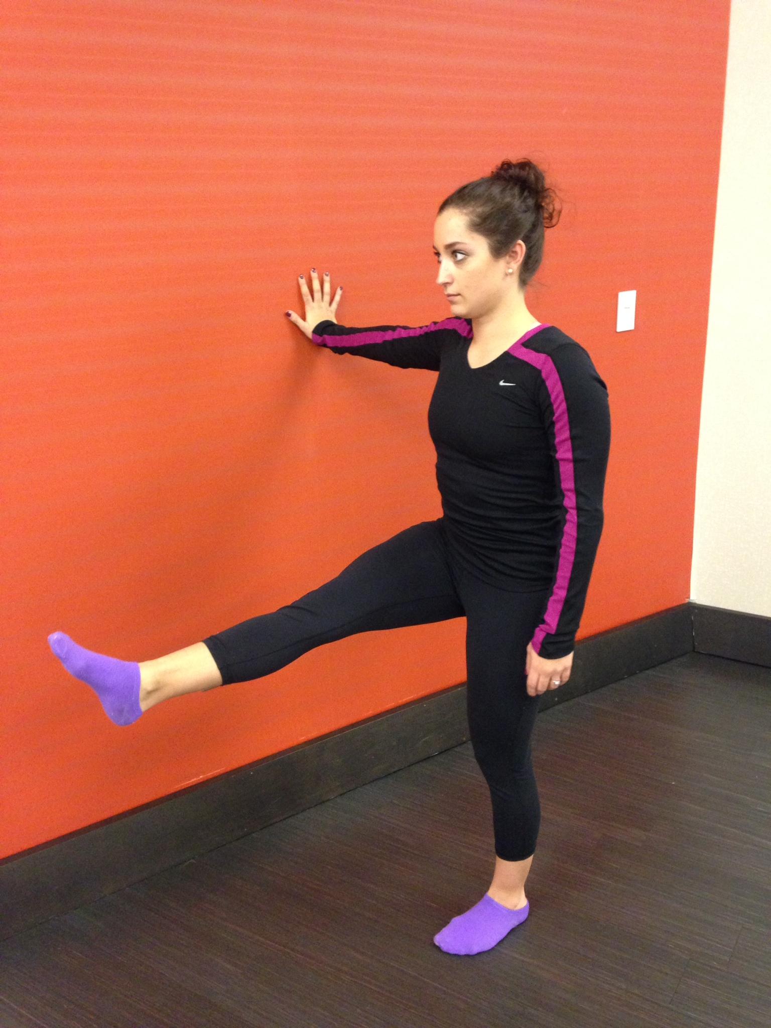 Level 3 - Dynamic Flexibility  Leg Swings
