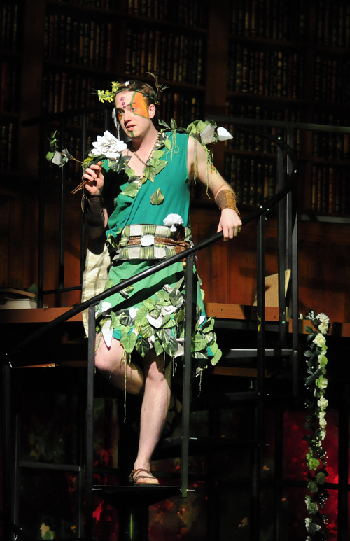 From Lowell House Opera's production of  A Midsummer Night's Dream . Photo courtesy of Lowell House Opera
