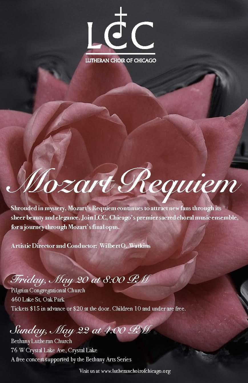 Mozart Requiem - May, 2016