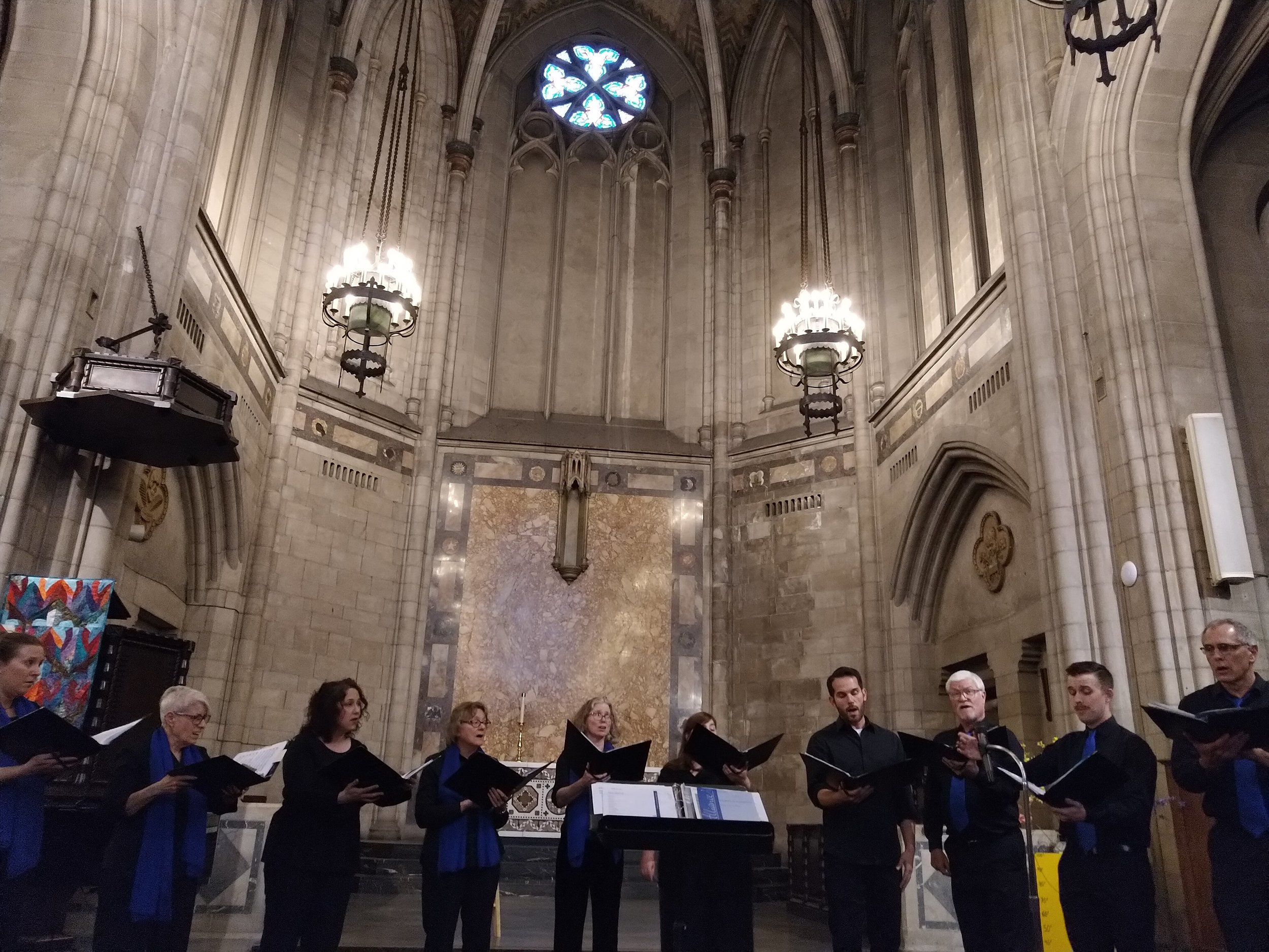 Lux Cantorum Chicago - is a unique sacred choral ensemble with a rich spiritual tradition and an ever-expanding repertoire. For more than 70 years, LCC has enlightened, educated and entertained the people of Chicago and the world with joyful reflections of our shared human experience.