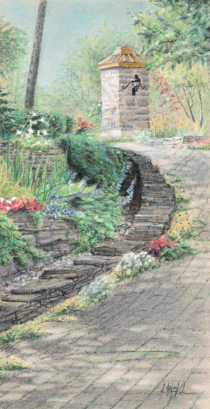 GLIMPSES OF THE GARDENS SERIES