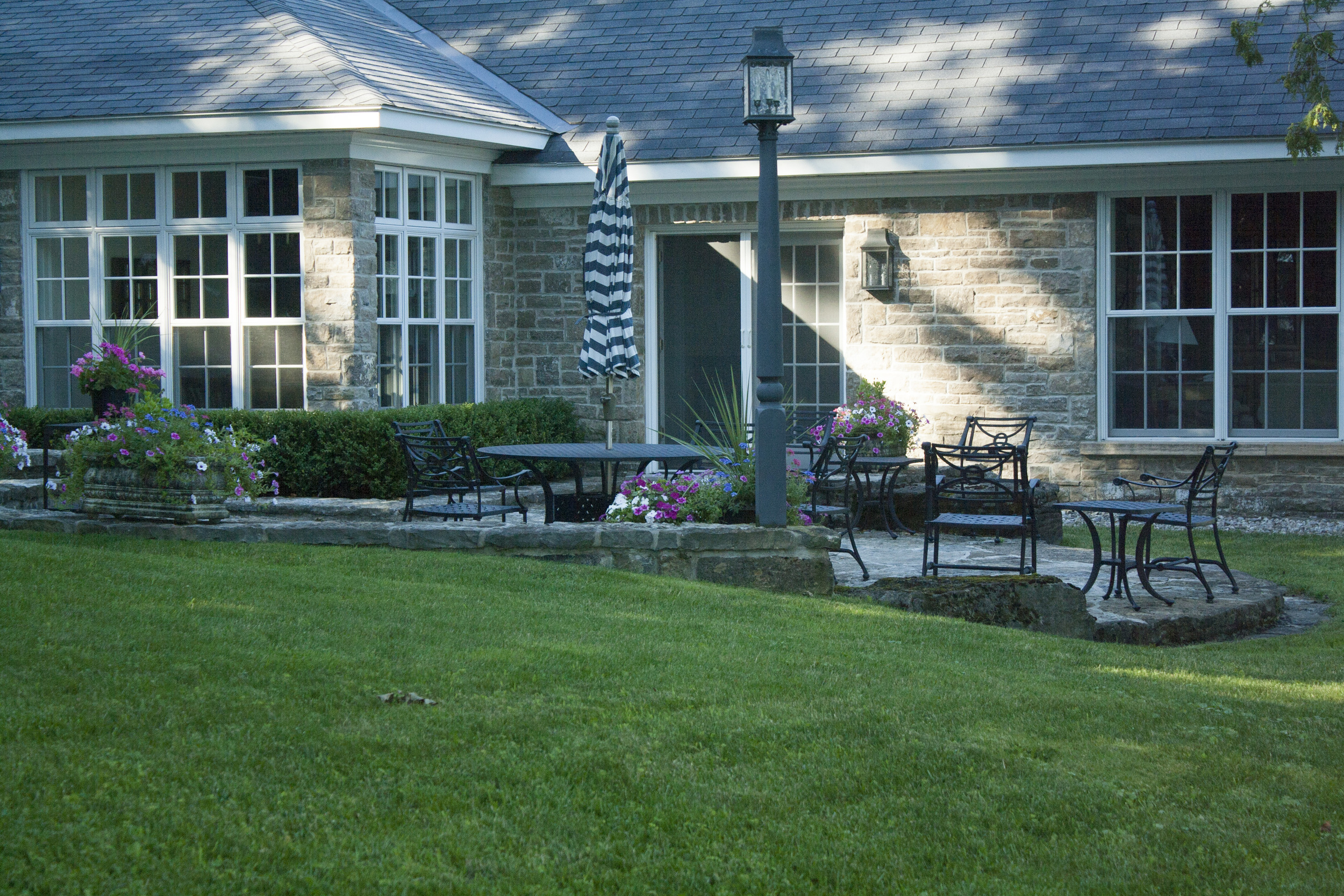 New Home With A Heritage Feel   Landscape Architecture   Riverview Design Solutions   Prescott, Ontario, Canada