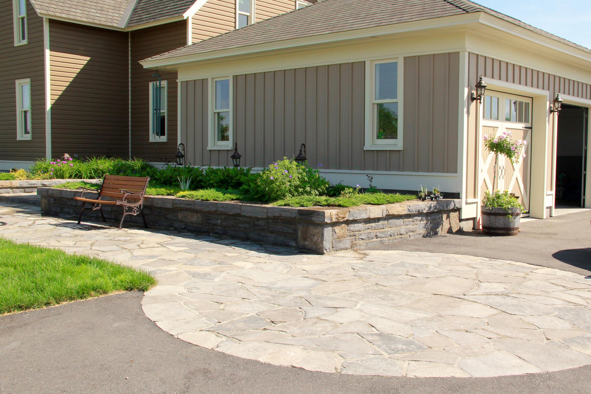 Country Home | Landscape Design | Landscaping | Riverview Design Solutions | Prescott, Ontario, Canada