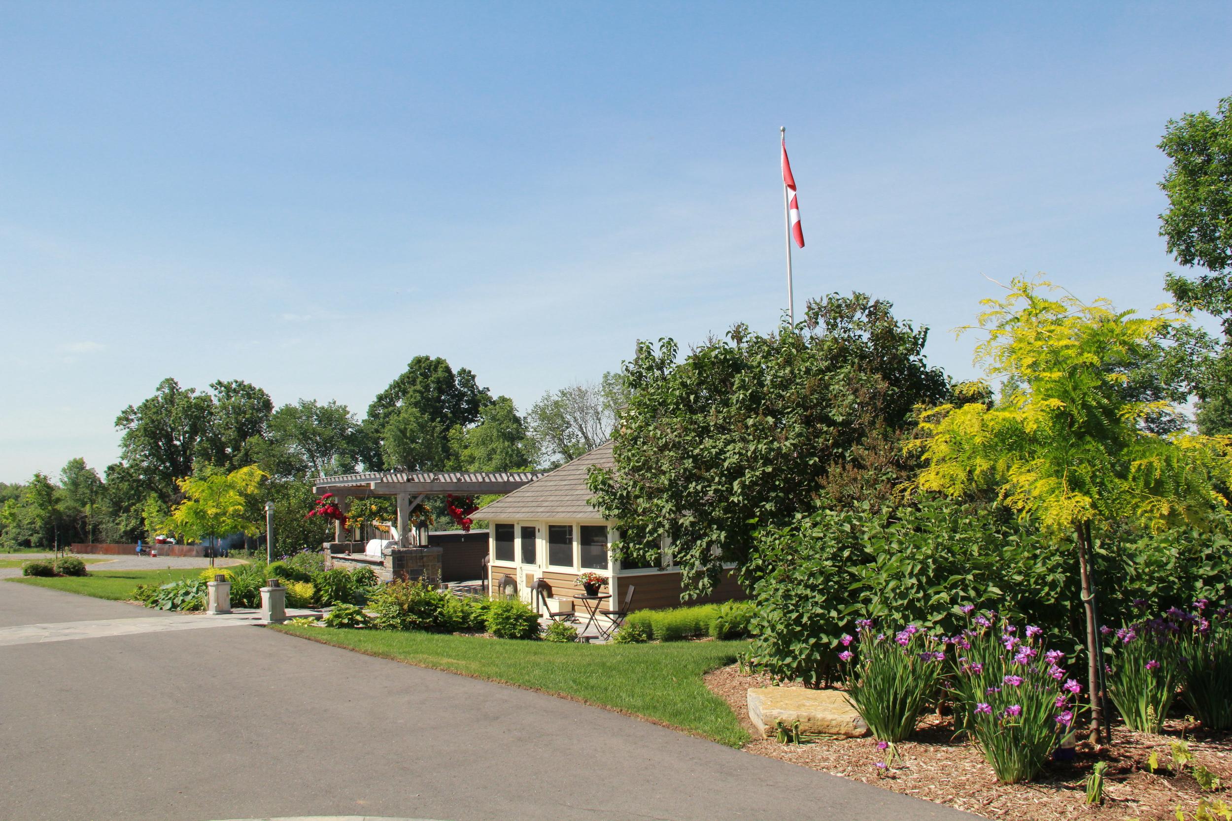 Country Home | Gazebo | Landscape Design | Landscaping | Riverview Design Solutions | Prescott, Ontario, Canada