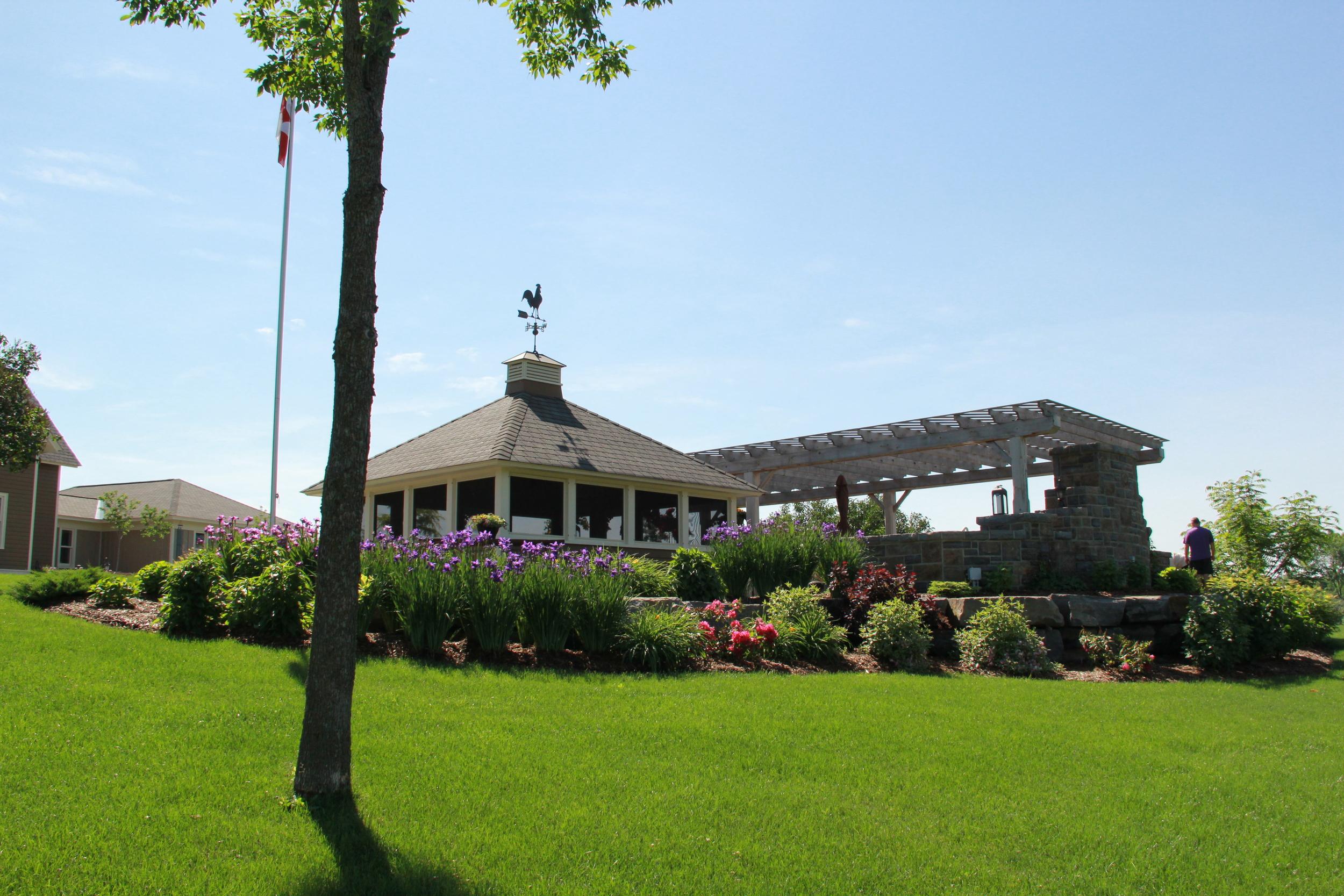 Country Home | Gazebo | Arbour | Garden | Landscape Design | Landscaping | Riverview Design Solutions | Prescott, Ontario, Canada