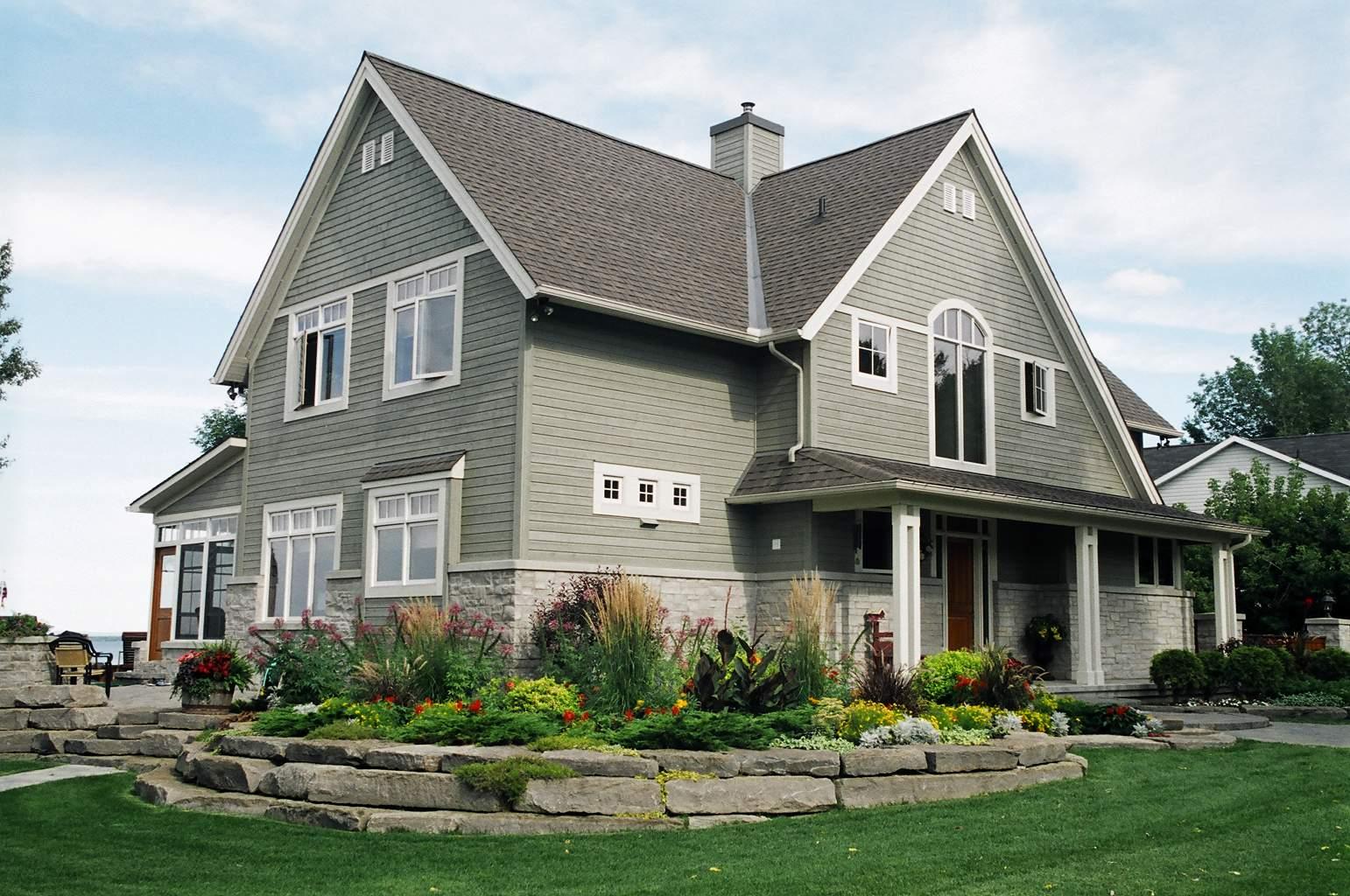 Ottawa Area Waterfront Home | Landscape Design | Riverview Design Solutions | Prescott, Ontario, Canada