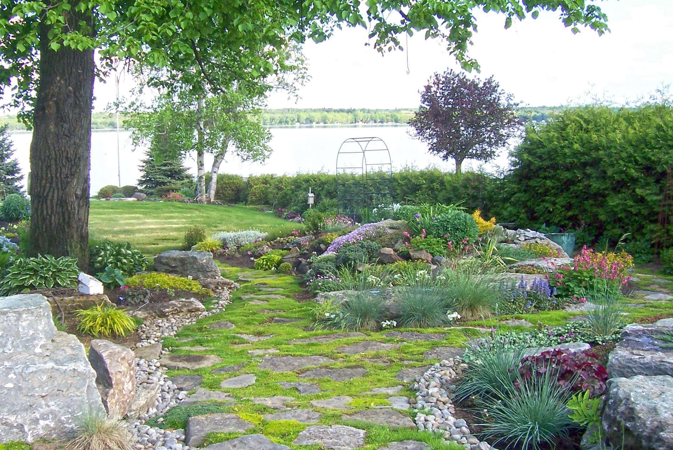 Waterfront Garden Design