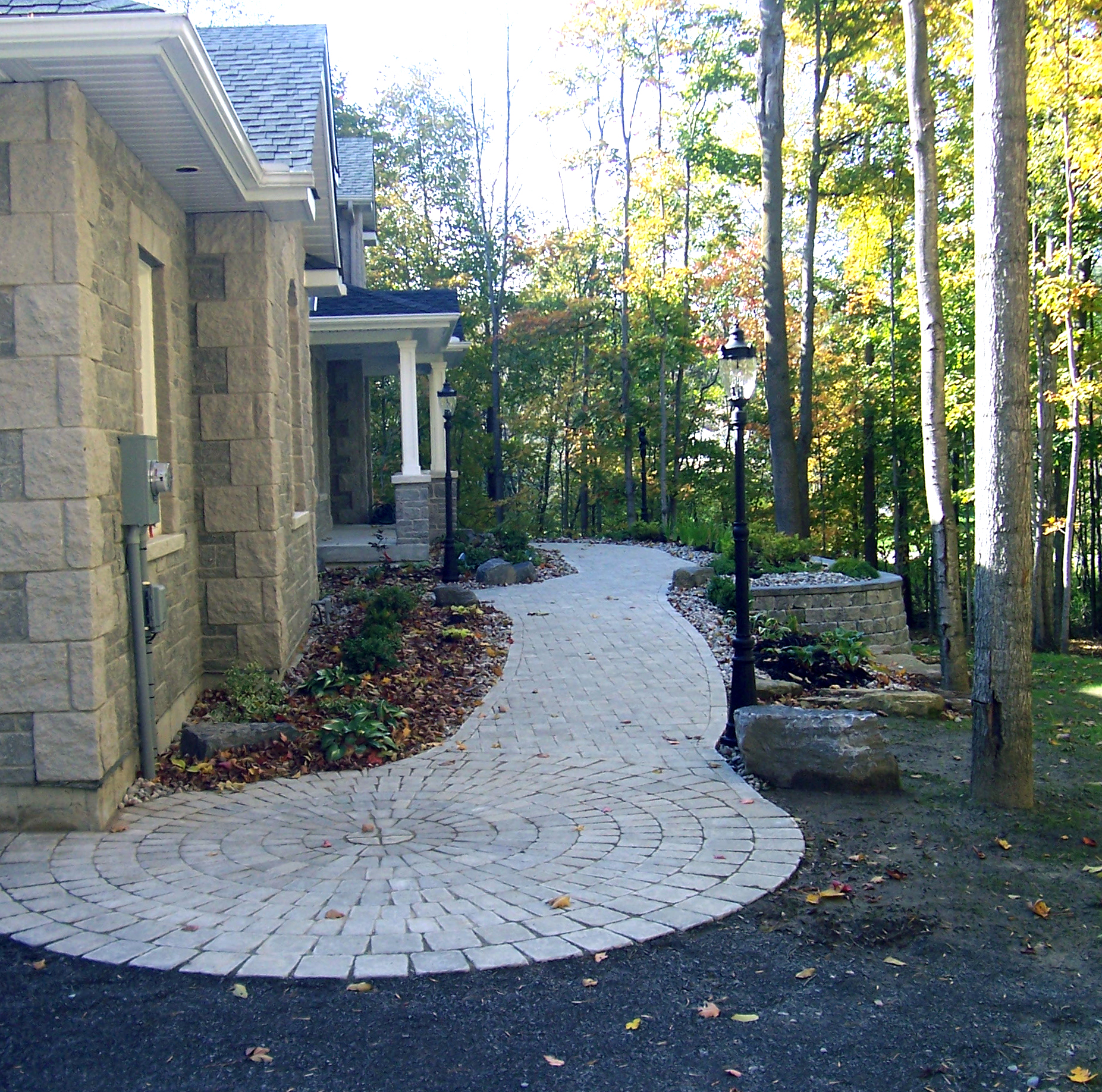 Paving Stone Entranceway | Riverview Design Solutions