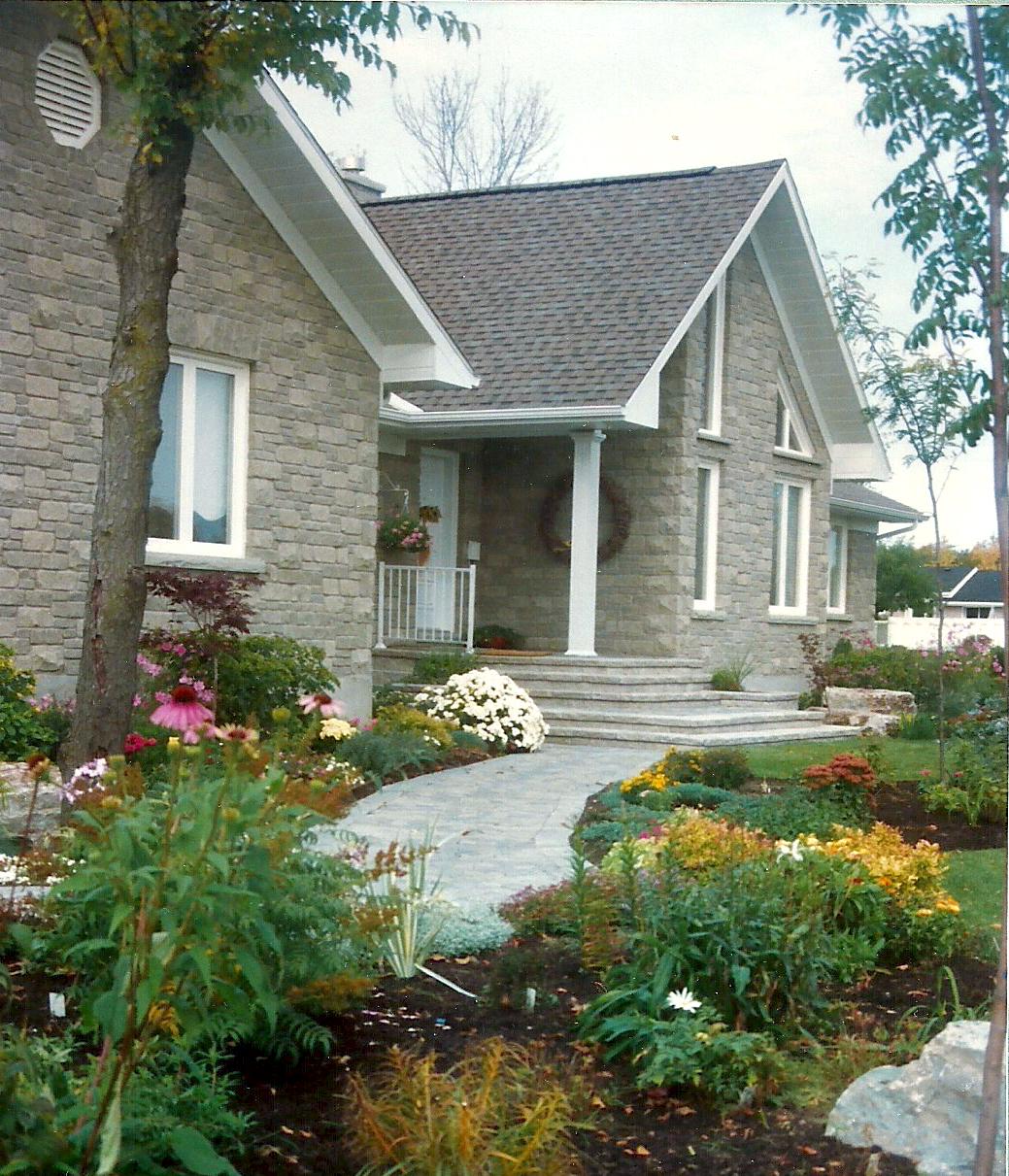 Garden | Paving Stone Entranceway | Landscaping