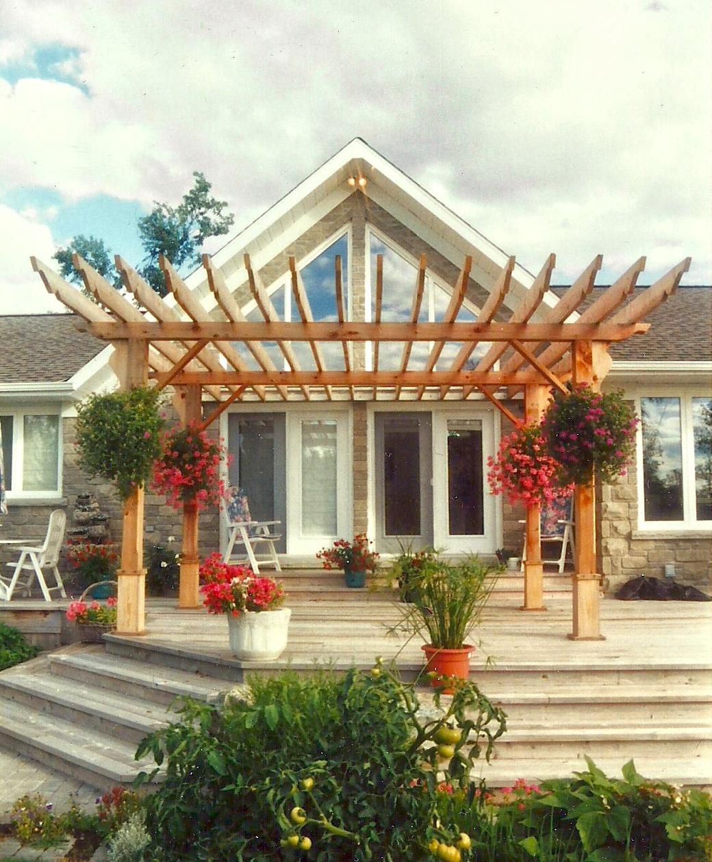 Garden | Deck | Arbour | Landscaping | Riverview Design Solutions | Prescott, Ontario, Canada