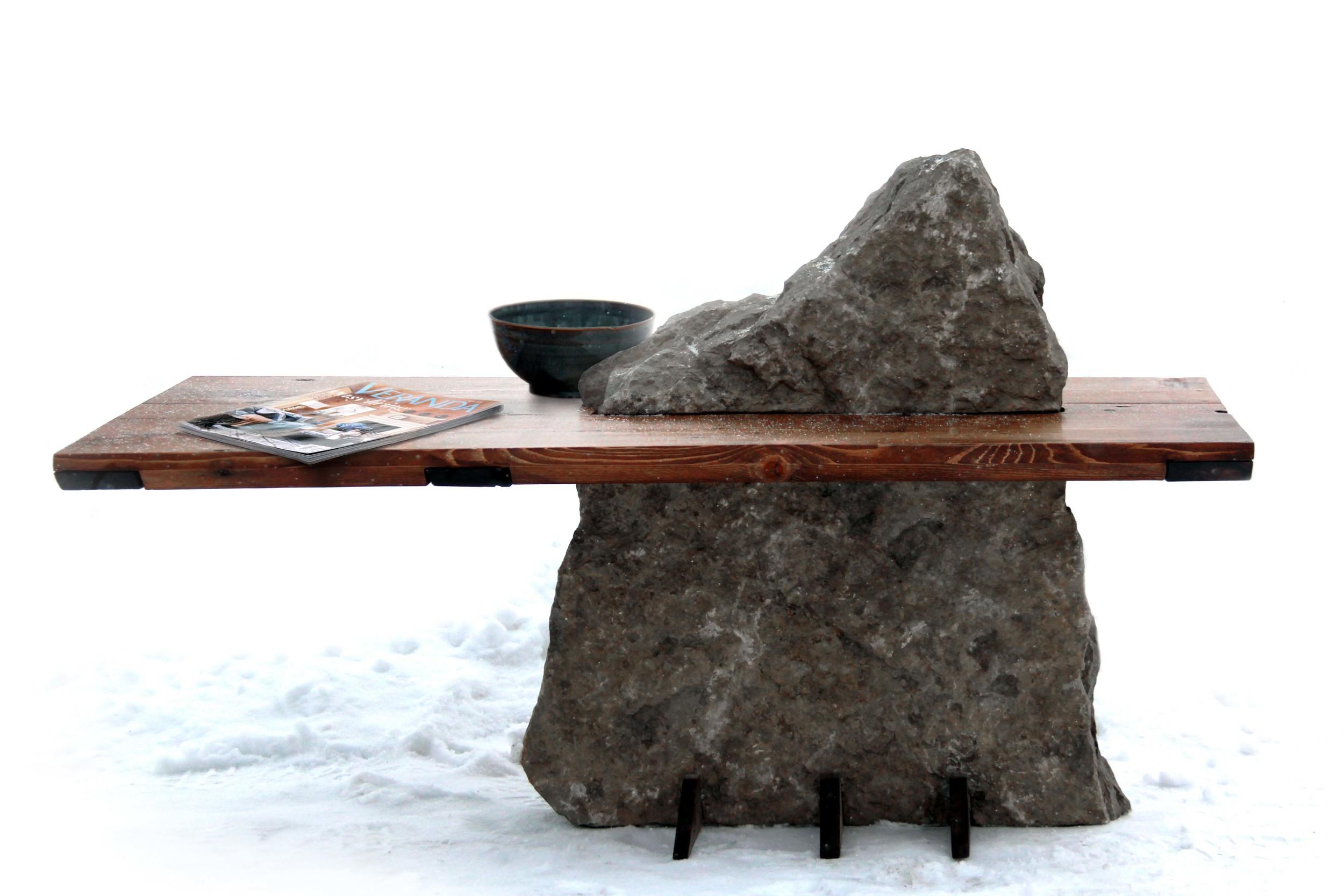 Riverview Design Solutions - Shoreline Coffee Table - Stone - Landscape - Brockville Ontario.jpg