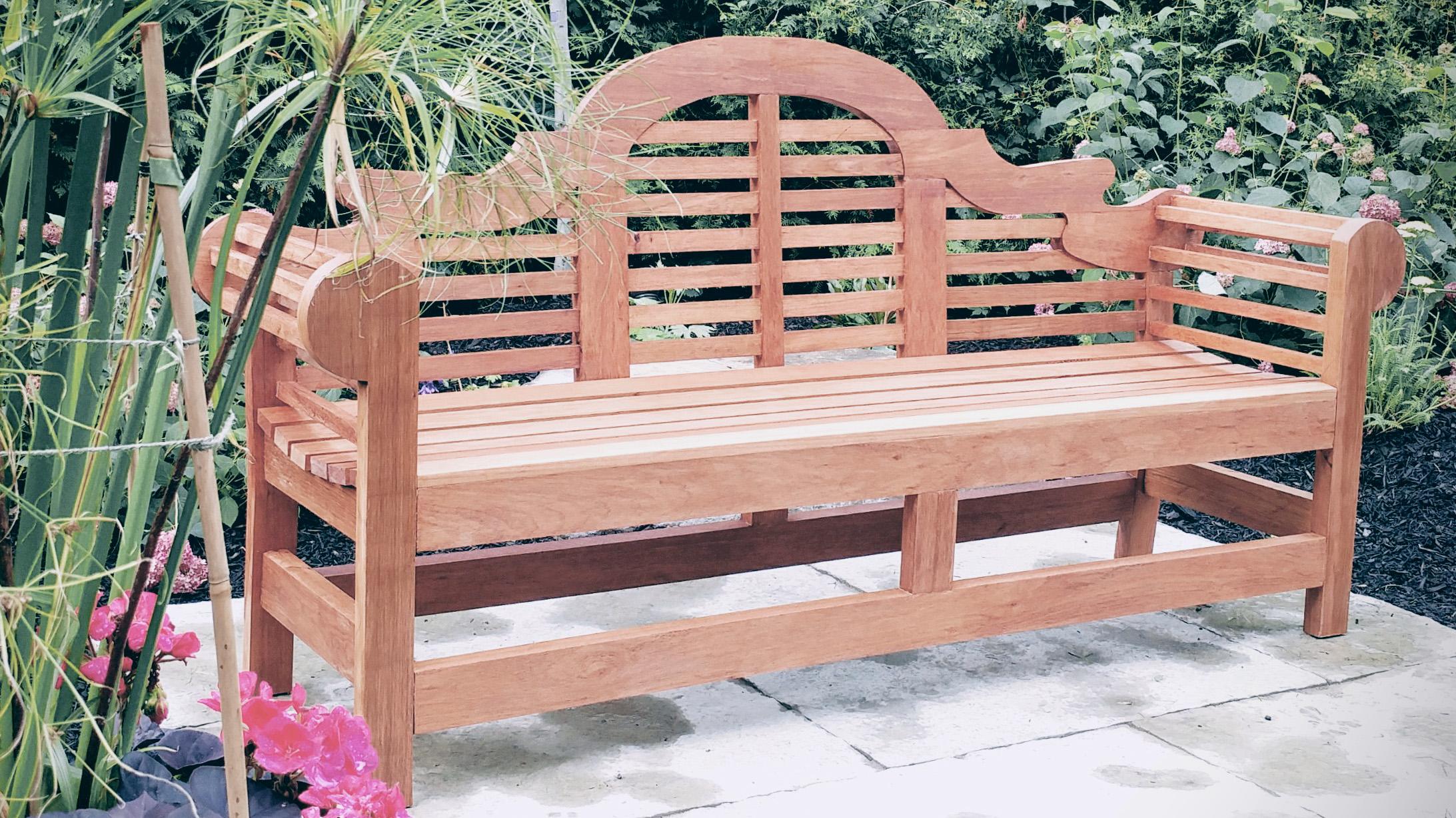 Riverview Landscape _ Brockville _ Lutyens Style Bench _  Garden Bench.jpg
