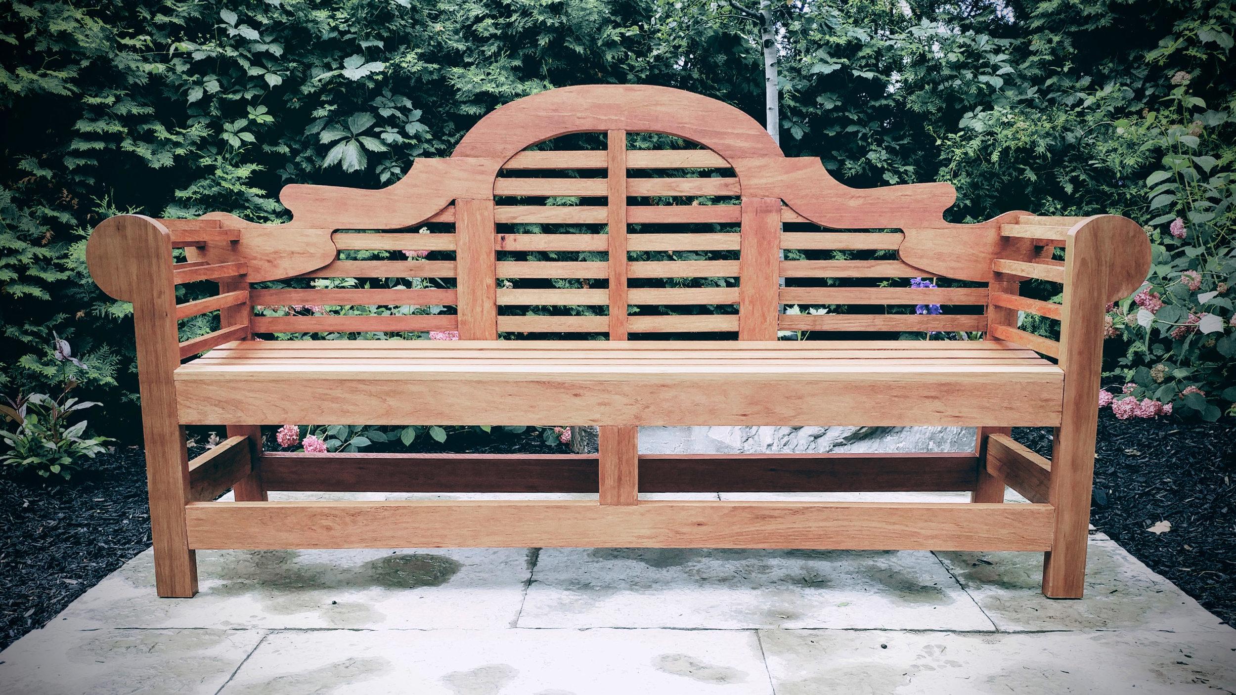 Riverview Design Solutions _ Lutyens Style Bench _ Garden Bench _ Brockville.jpg