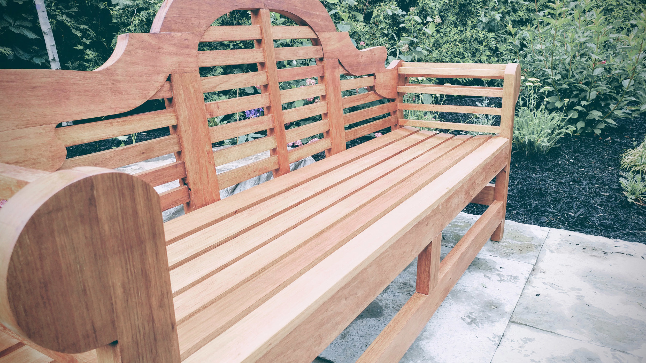 Riverview Landscape _ Brockville _ Lutyens Style Bench _ Detail.jpg