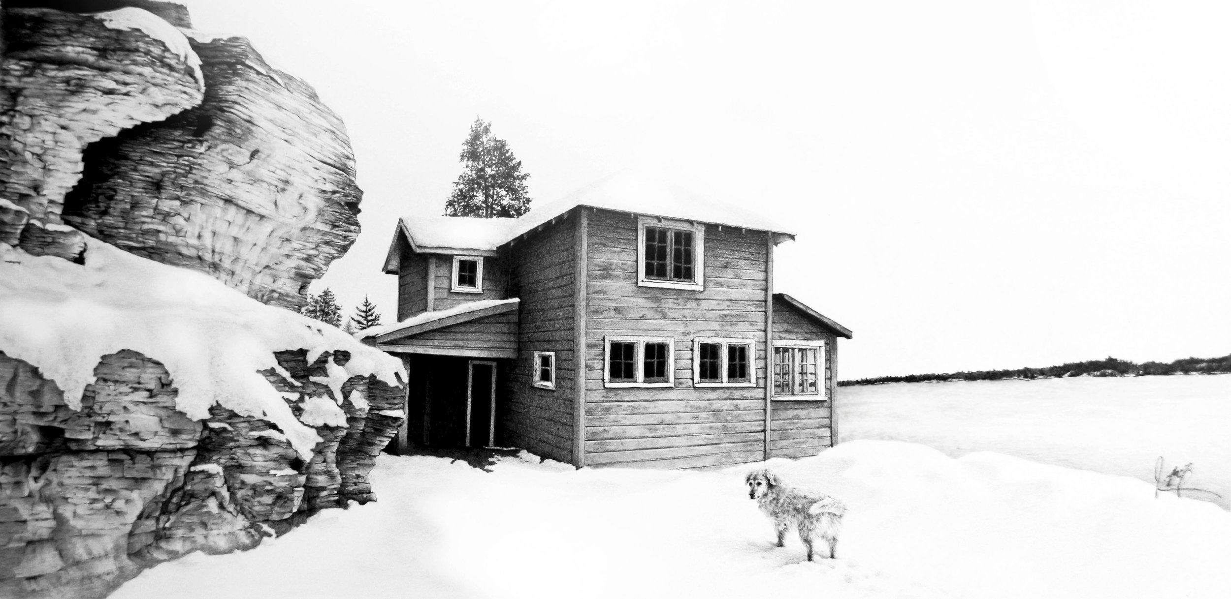 ST.LAWRENCE COTTAGE DRAWING