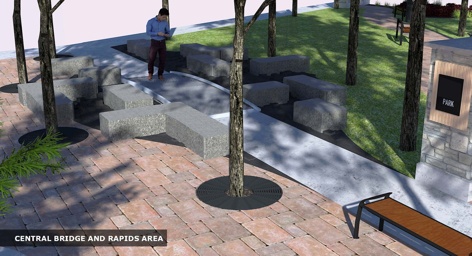 Riverview Design Solution_Riverview Landscape_Pathway Brick_Landscape Design_Park concept_Park Bench.jpg