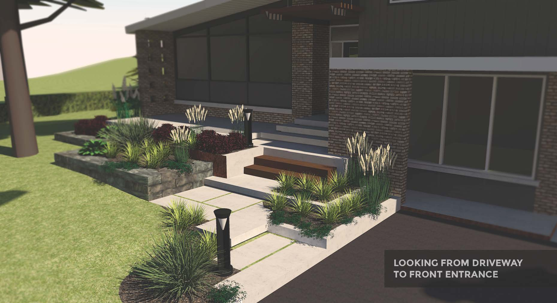 Front Entrance_mid-century Home Revamp_Riverview Design Solutions_Landscape Architecture_Concept Plan.jpg
