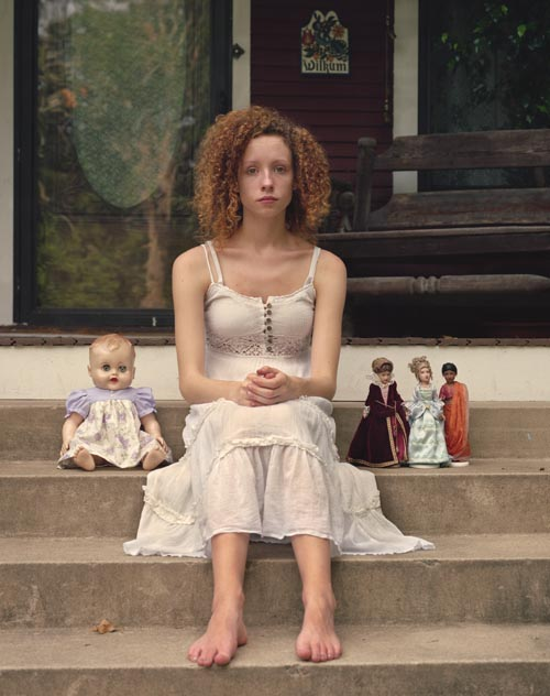 Emily with dolls (2011)