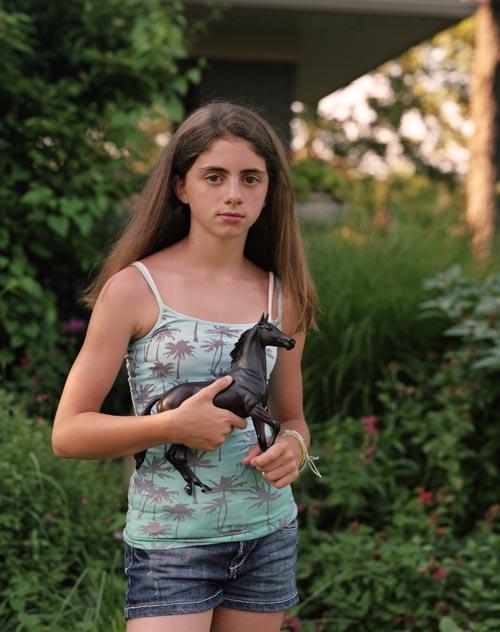 Nina with horse (2011)
