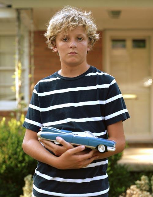 Wyatt with car (2011)