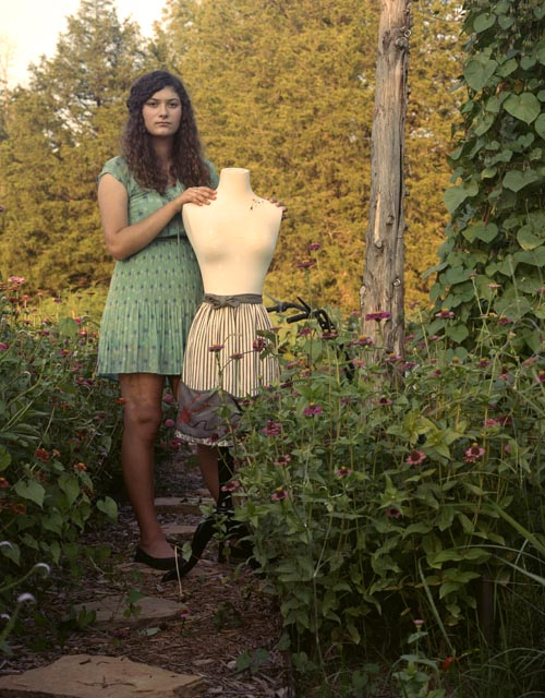 Clementine with mannequin (2013)