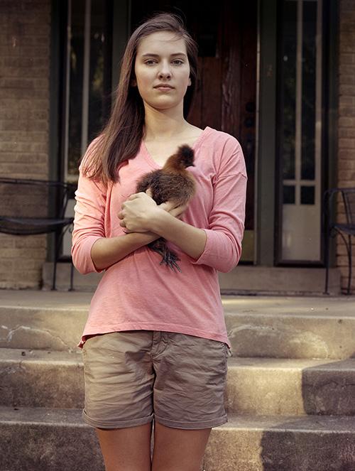Sydney with chicken (2014)