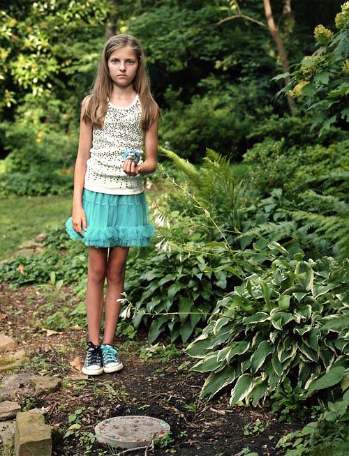 Annie with bird (2011)