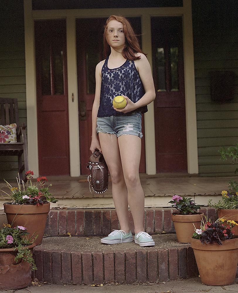 Sara with glove (2014)