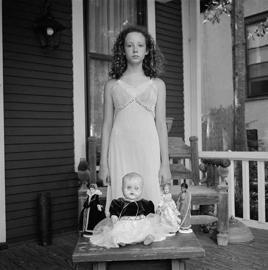 Emily with dolls (2007)