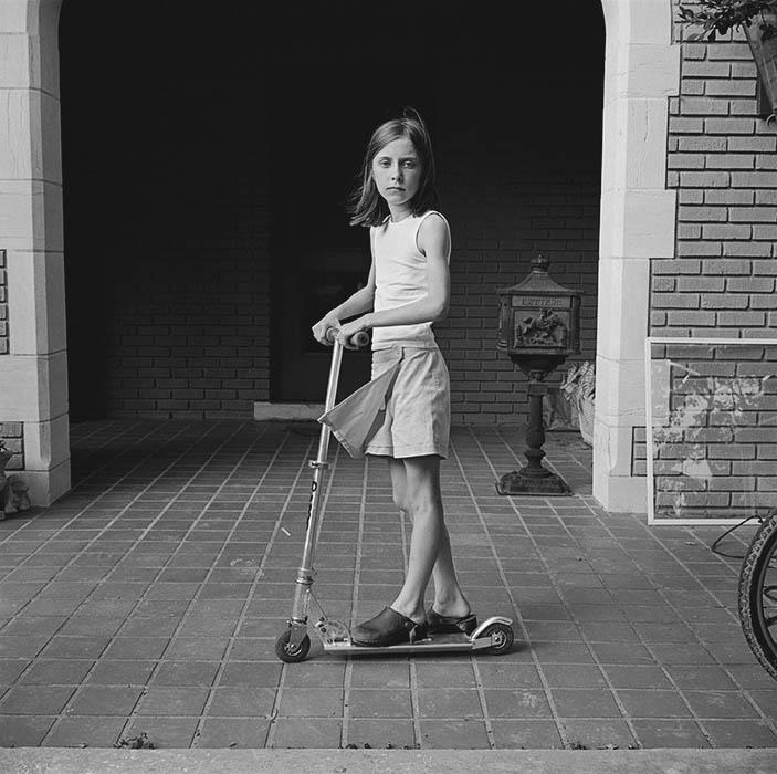 Sara with skateboard (2005)