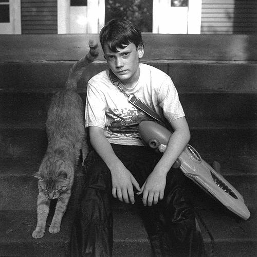 William with cat (1993)