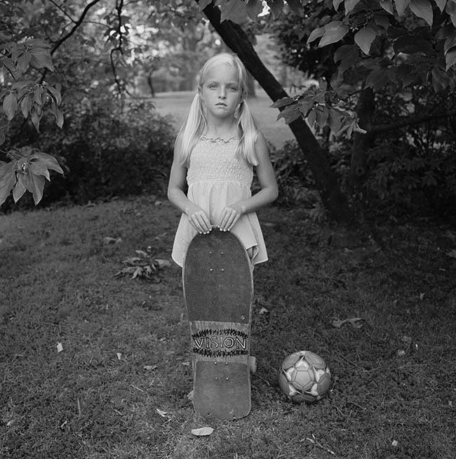 Abby with skateboard (2008)