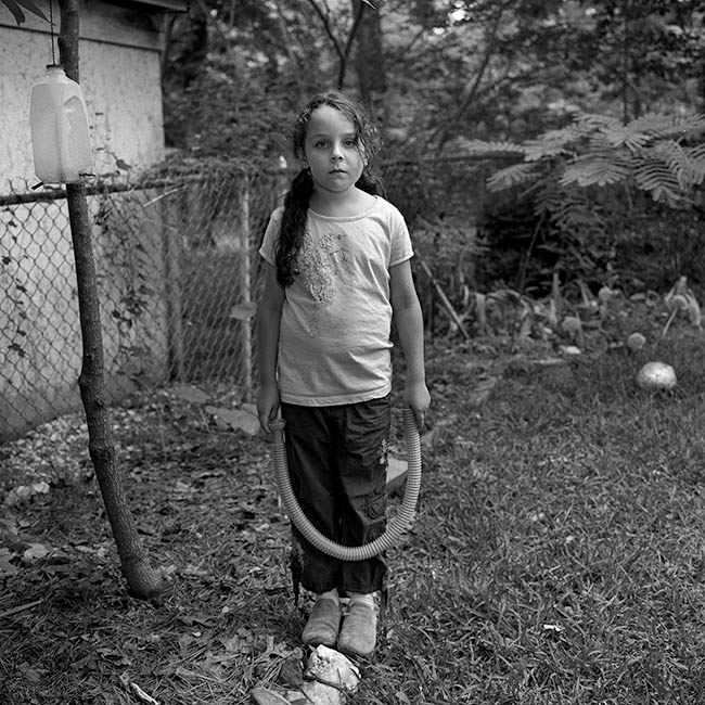 Flannery with hose (2010)