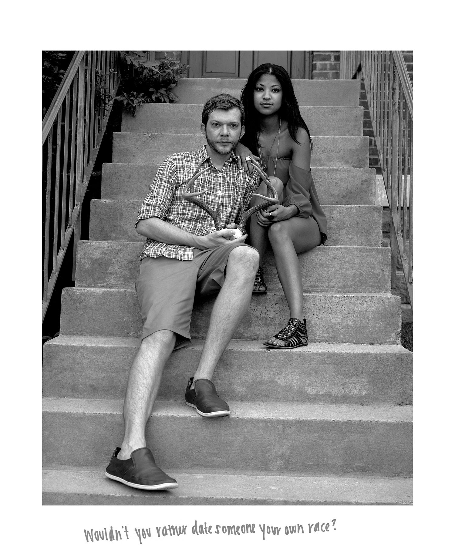 Wouldn't you rather date someone your own race? (2014)